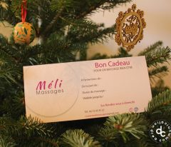 Carte cadeau Méli Massages